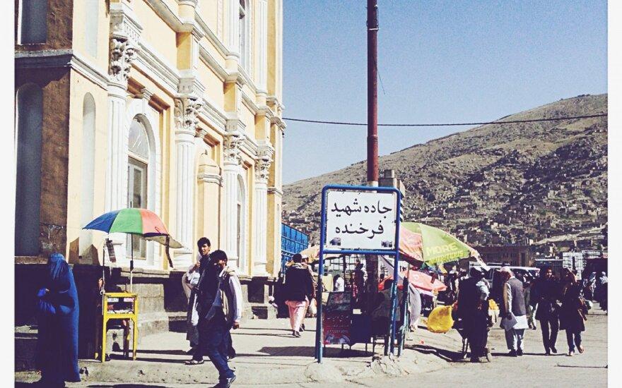 Kabulo aikštė, kurioje buvo akmenimis užmėtyta moteris