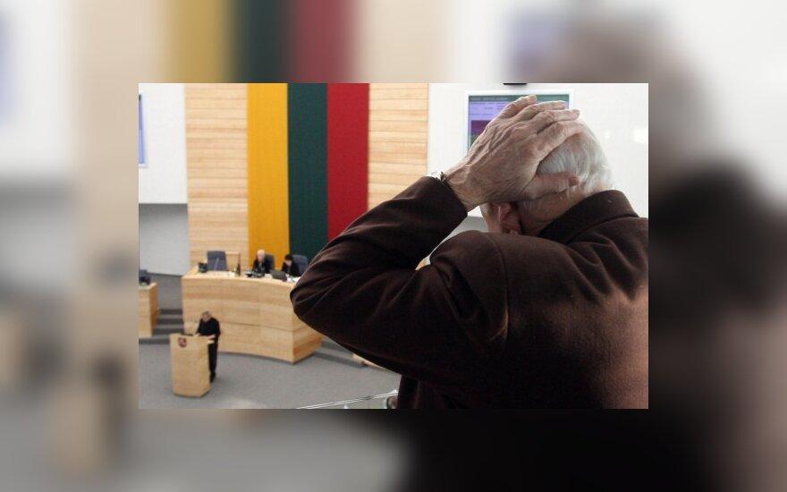 Парламент не повысил пенсии
