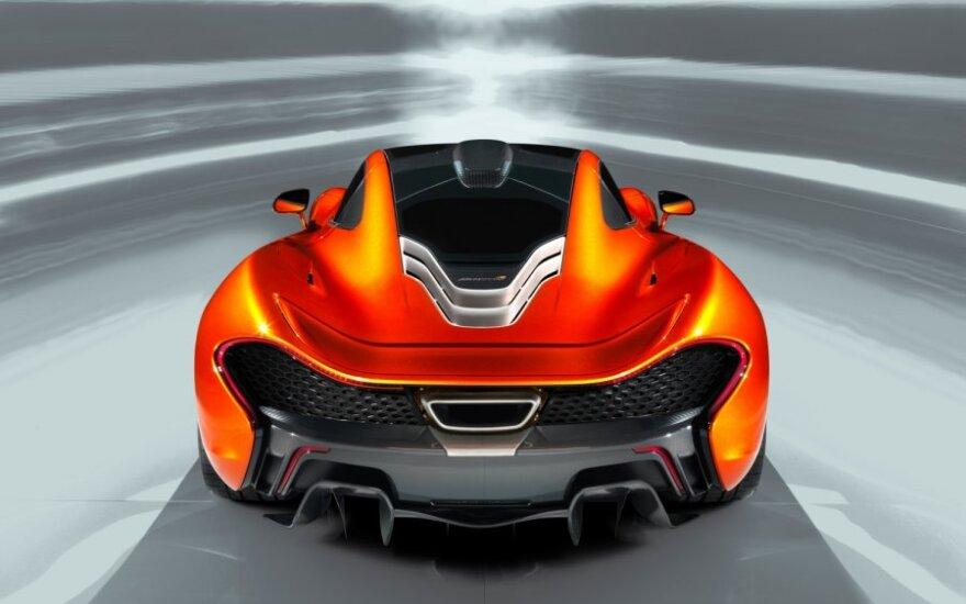 Новый флагман McLaren оказался 916-сильным гибридомобилем