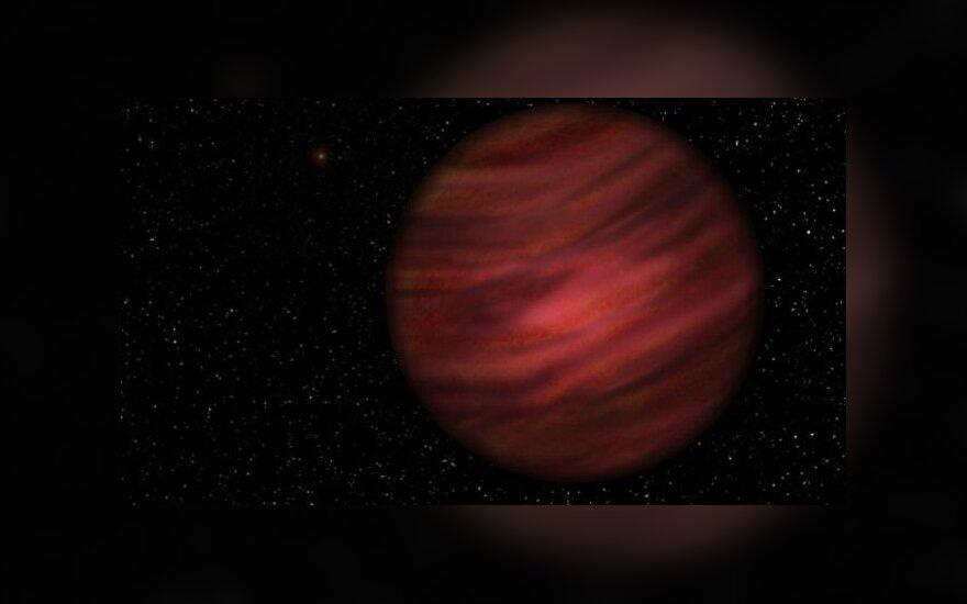 Экзопланета, получившая обозначение 2MASS J2126-8140, имеет массу 12-15 Юпитеров