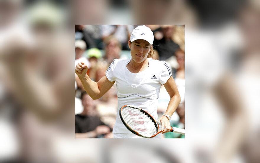 Justine Henin Wimbledono teniso turnyre