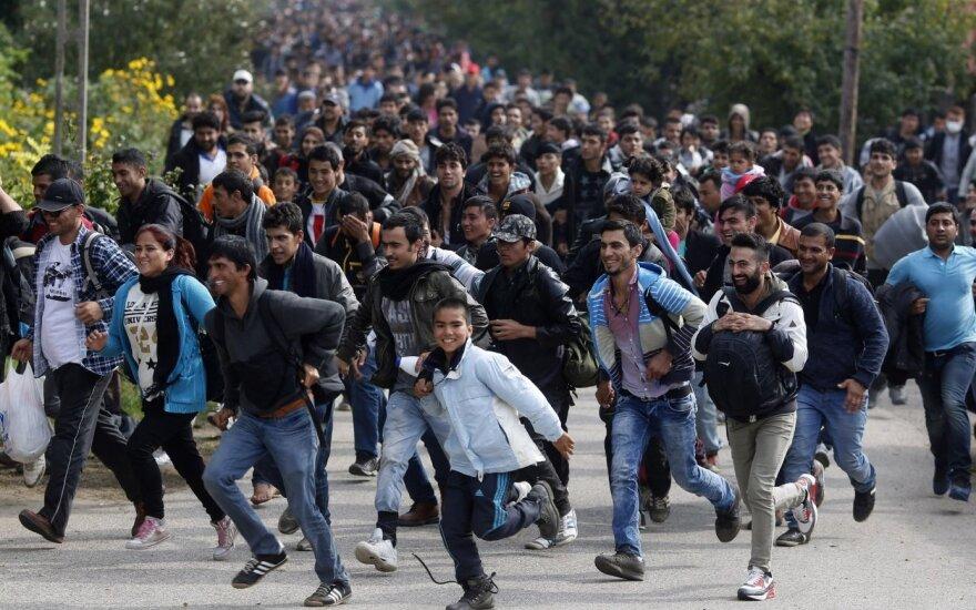 Uchodźcy nie chcą na Litwę, nawet o takiej nie słyszeli
