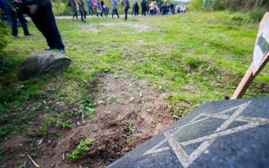 В Велючёнисе почтили память жертв Холокоста