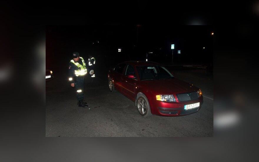 В Вильнюсе Škoda сбила пожилых пешеходов