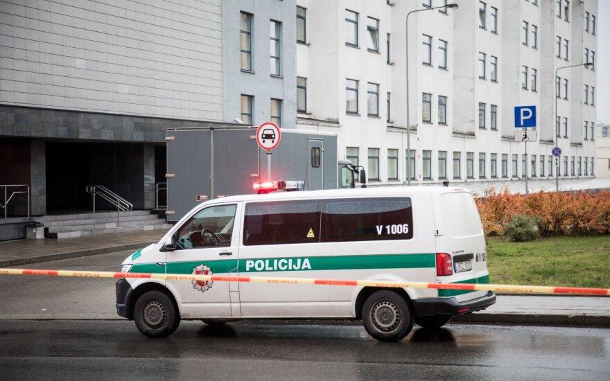 """План """"Щит"""" в Вильнюсском участковом суде: на время проверки суд был эвакуирован"""
