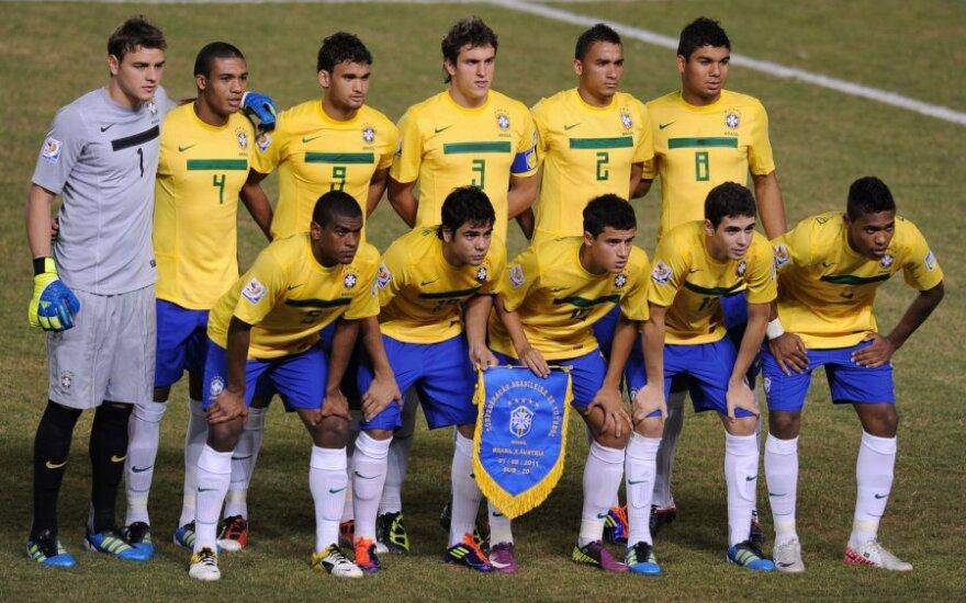 Brazilijos jaunimo futbolo rinktinė