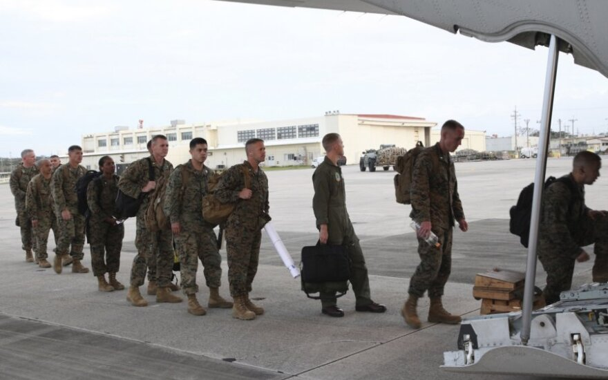 JAV kariai Okinavoje