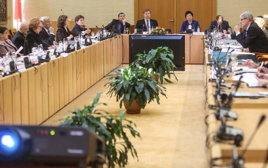 Seimo ir pasaulio lietuvių bendruomenės komisijos posėdis