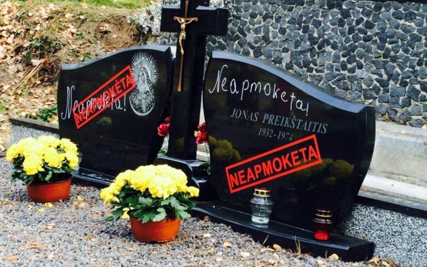 """Niespodzianka na cmentarzu. Nowoczesne """"wybijanie"""" długów"""