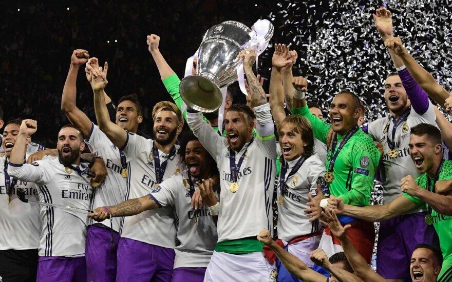 """Мадридский """"Реал"""" выиграл Лигу чемпионов второй год подряд"""