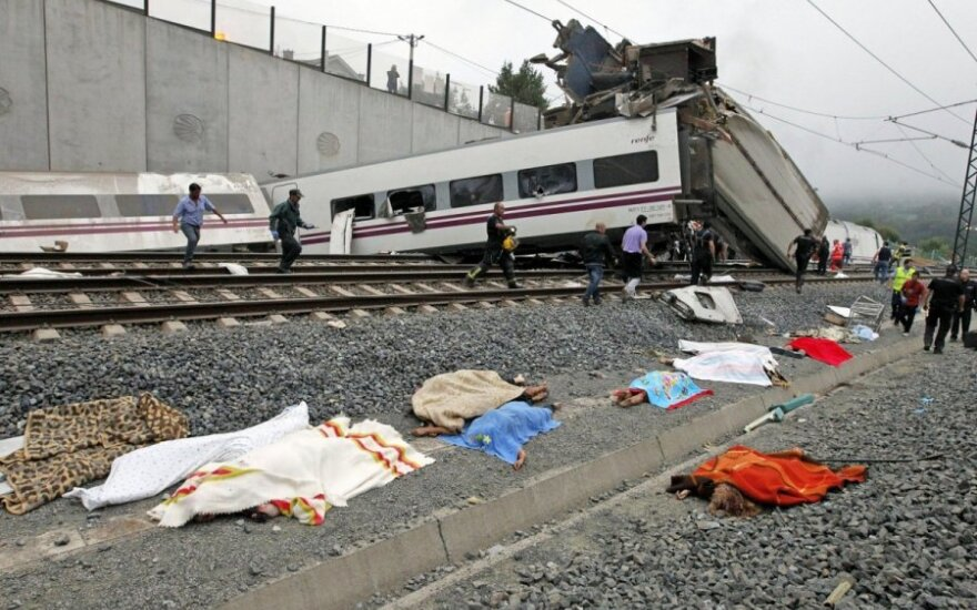W Hiszpanii wykoleił się pociąg