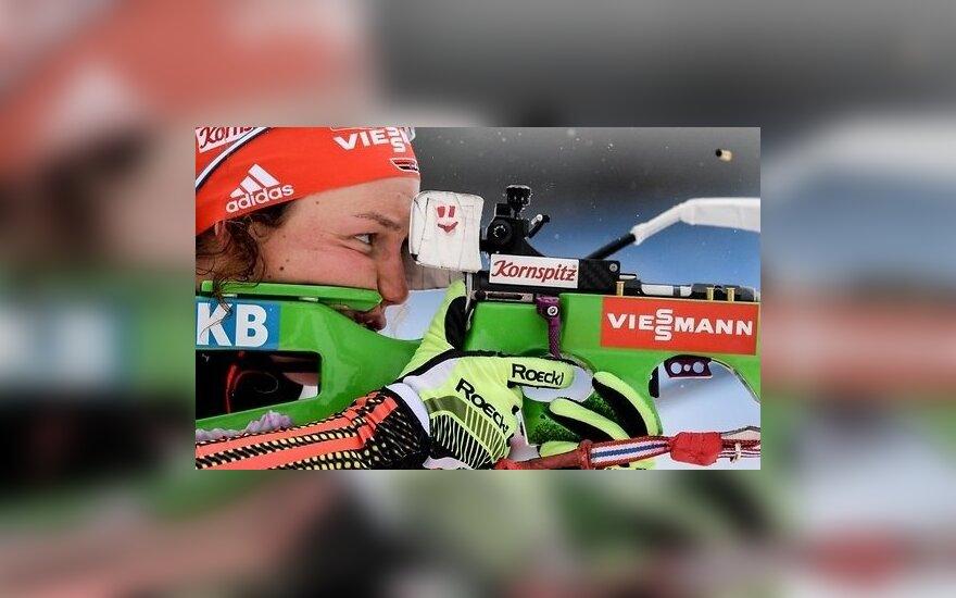 Дальмайер второй раз в сезоне выиграла гонку на 15 км, Бендика осталась без очков