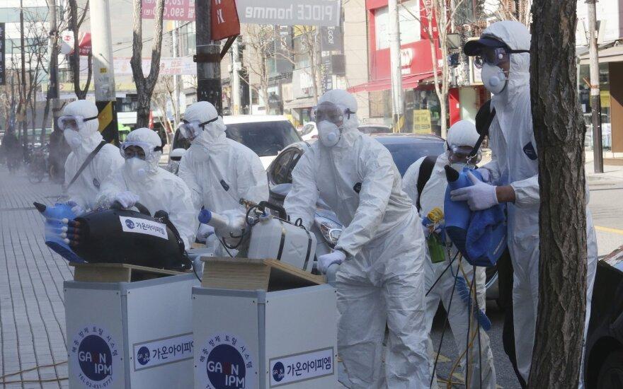 Koronavirusas plinta pasaulyje