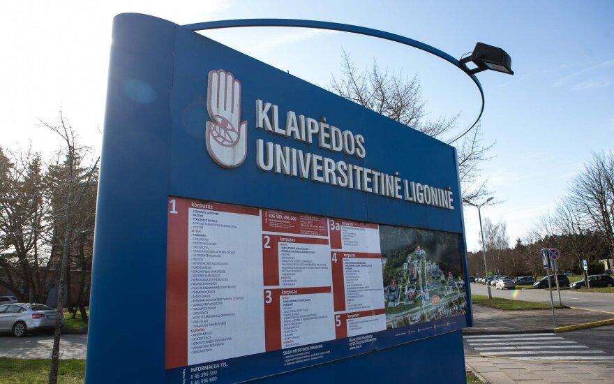 Ситуация в Клайпеде: больной коронавирусом пациент заразил других