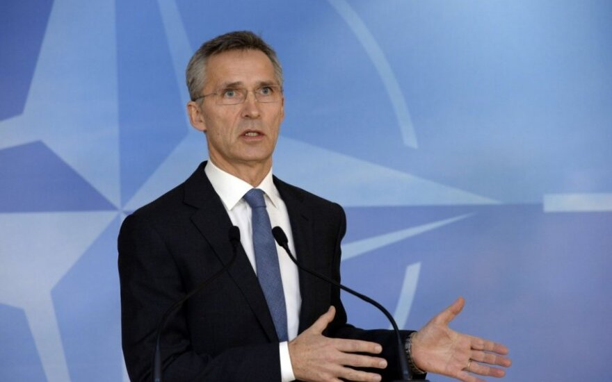 """Генсек НАТО потребовал от России """"вывести свои войска"""" с Украины"""