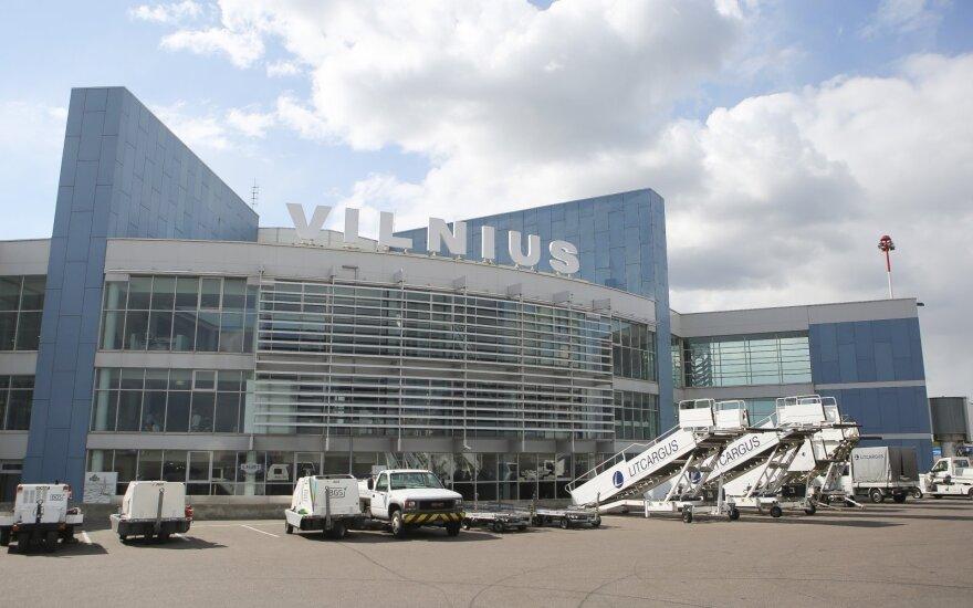 В Вильнюсском аэропорту в августе - рекордно большой пассажиропоток
