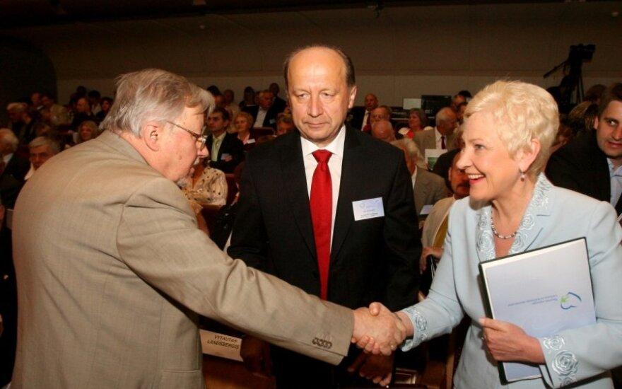 Vytautas Landsbergis, Andrius Kubilius, Irena Degutienė