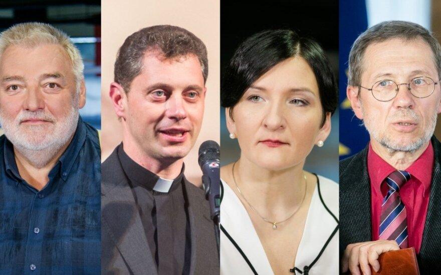 Algirdas Kaušpėdas, Alfredas Bumblauskas, Ričardas Doveika, Austėja Landsbergienė, Liudas Mažylis, Donatas Katkus