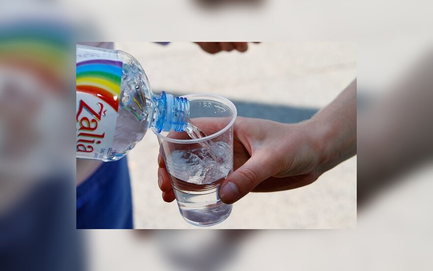 В выходные дни в центре Вильнюса будут раздавать воду