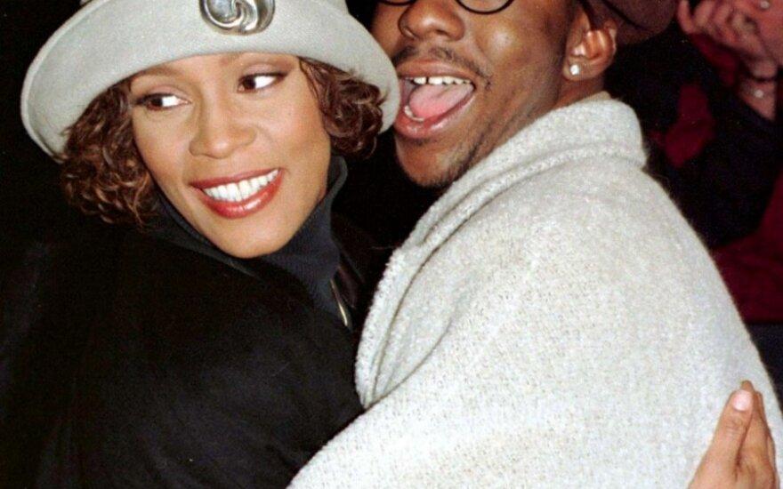Whitney Houston ir Bobby Brownas. 1997 m.