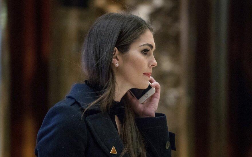 Директором по связям Белого дома назначена экс-модель Хоуп Хикс