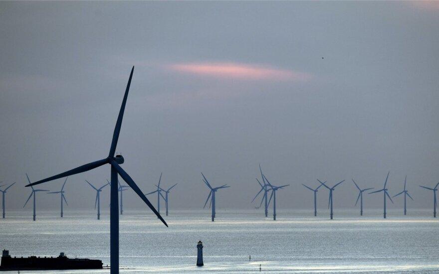 Jūrų vėjo jėgainės Didžiojoje Britanijoje