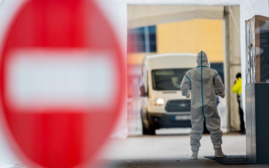 В Каунасе COVID–19 болеют больше 2500 человек