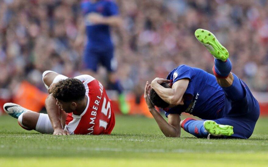 Premier lyga, Arsenal - Manchester United