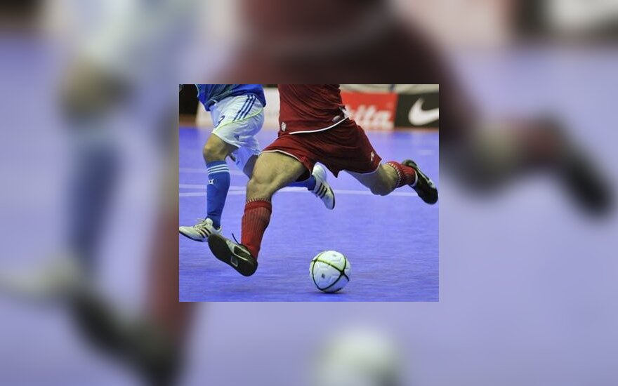На двух матчах по мини-футболу – 28 голов