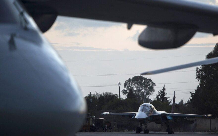 Очередная группа российских самолетов вылетела из Сирии в Россию
