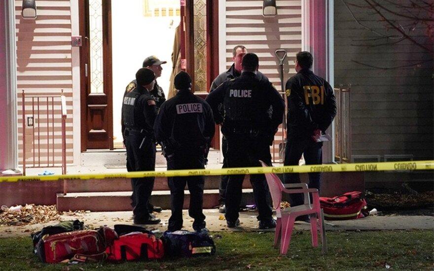 Неизвестный совершил нападение с ножом в синагоге в штате Нью-Йорк