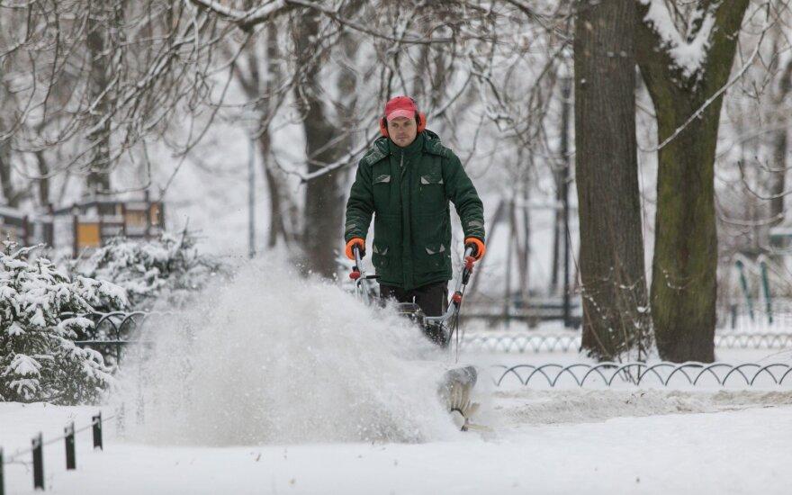 Прогноз на месяц: зима попытается взять свое