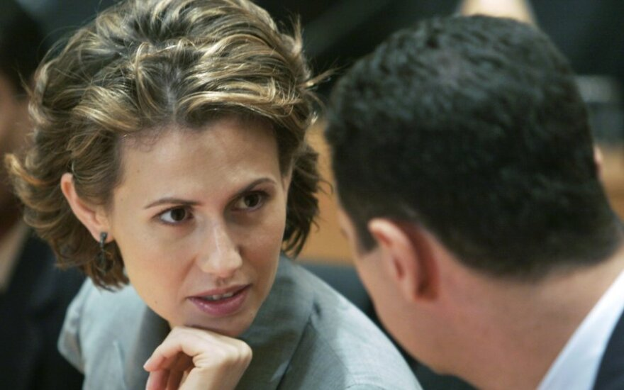 Asma al Assad ir Basharas al Assadas