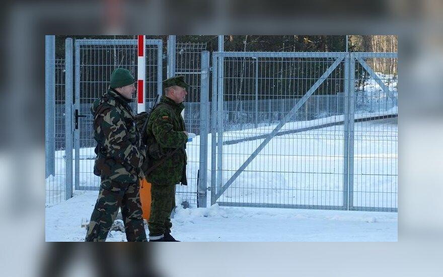 Возле литовско-белорусской границы задержали двух французов