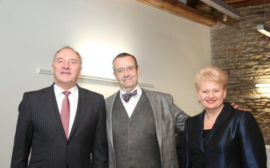 Dalia Grybauskaitė Baltijos šalių Prezidentų susitikime Estijoje