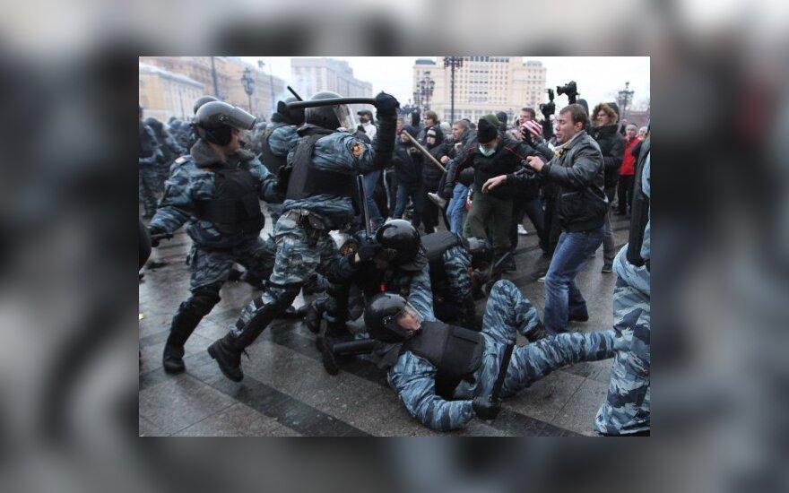 Зачинщики погромов в центре Москвы отпущены