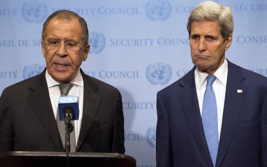Sergejus Lavrovas, Johnas Kerry