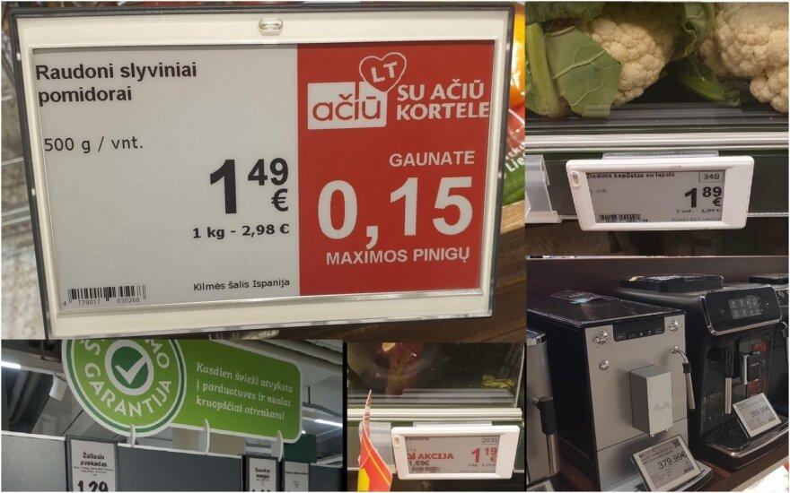 Elektroninės kainų etiketės