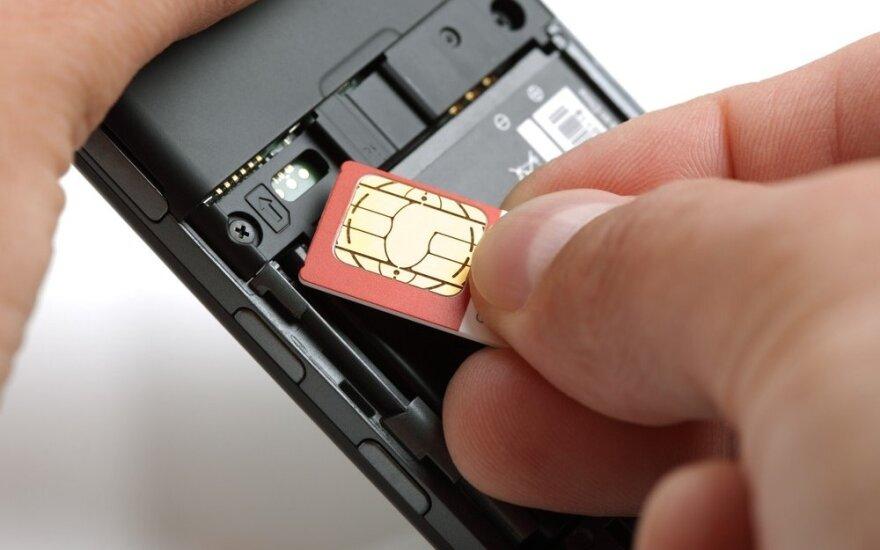 В Литве хотят отказаться от традиционных SIM-карт для телефонов