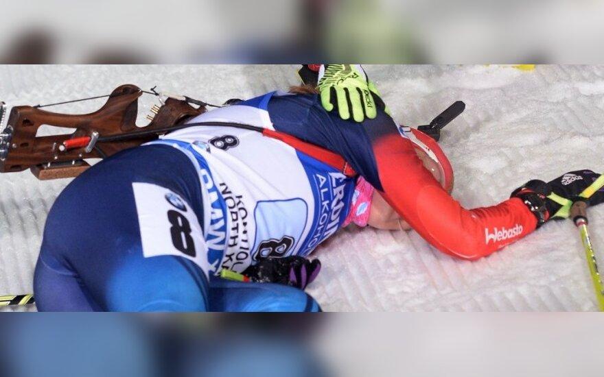Rusijos biatlonininkė