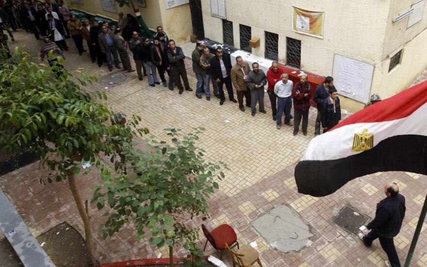 Egipte vyksta rinkimai