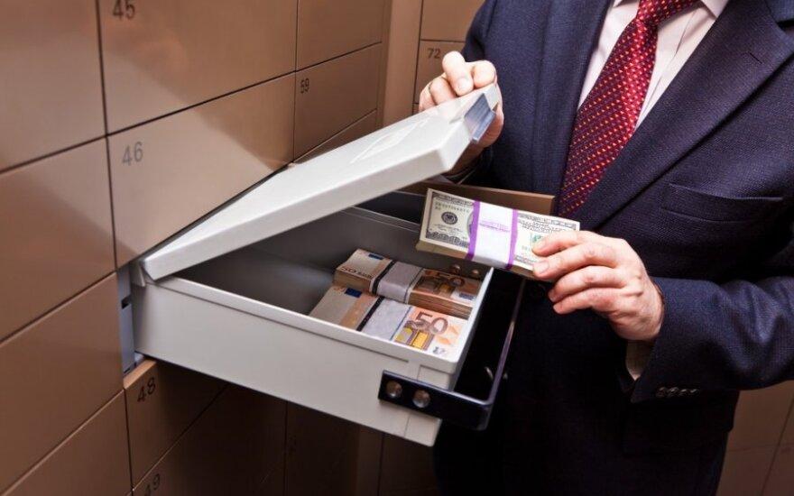 В Каунасе задержан подозреваемый в краже сейфа с деньгами и лотерейными билетами