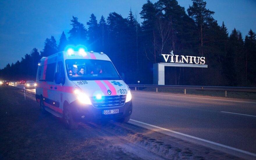 Avarija Vilniaus rajone
