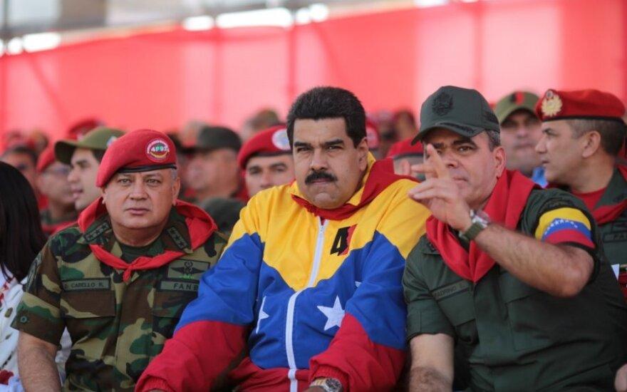 Vladimir Padrino Lopezas, Nicolas Maduro, Diosdado Cabello