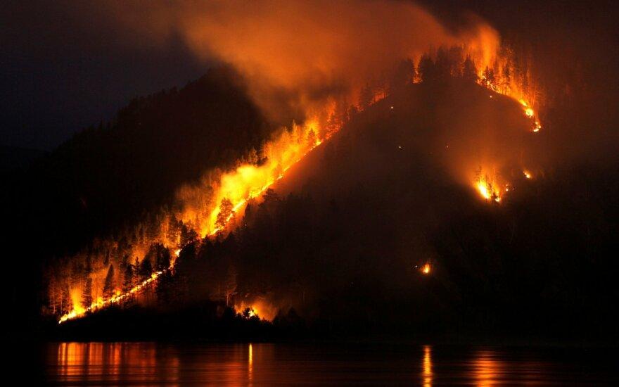 Sibire – ekstremali situacija: dega Belgijos dydžio plotas