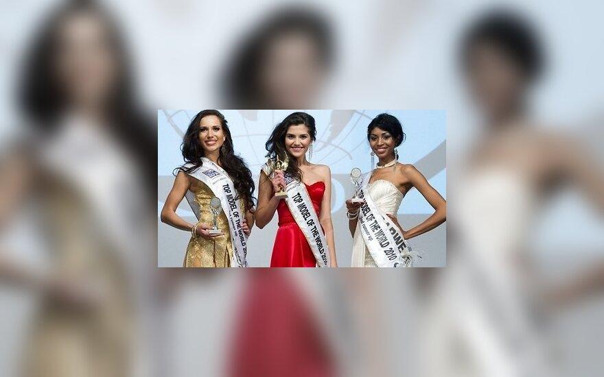 Даугавпилчанка стала вице-мисс на Top Model of The World
