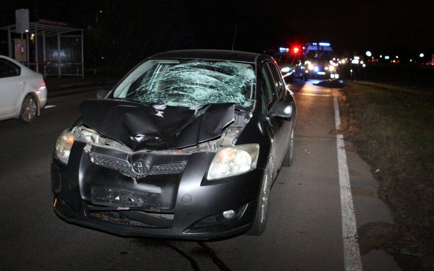 В Вильнюсе в ДТП погибла пешеход