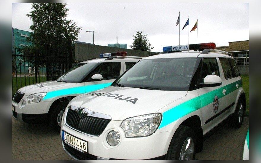 Policijai skirti Škoda Yeti