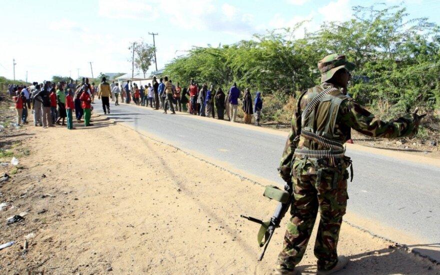 Somalio islamistų al Shebab išpuolis Kenijoje