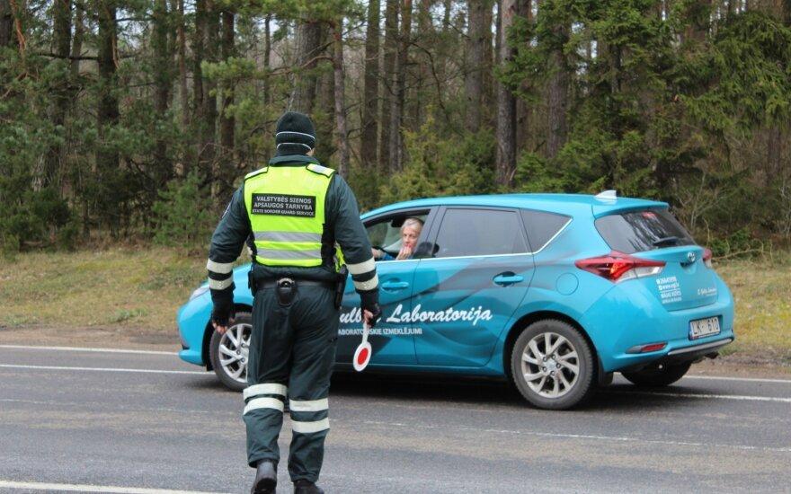 Правительству Литвы предлагается с июня отменить контроль на границе с Латвией